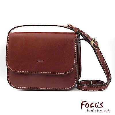 FOCUS經典原皮時尚斜背包(FTE7328)