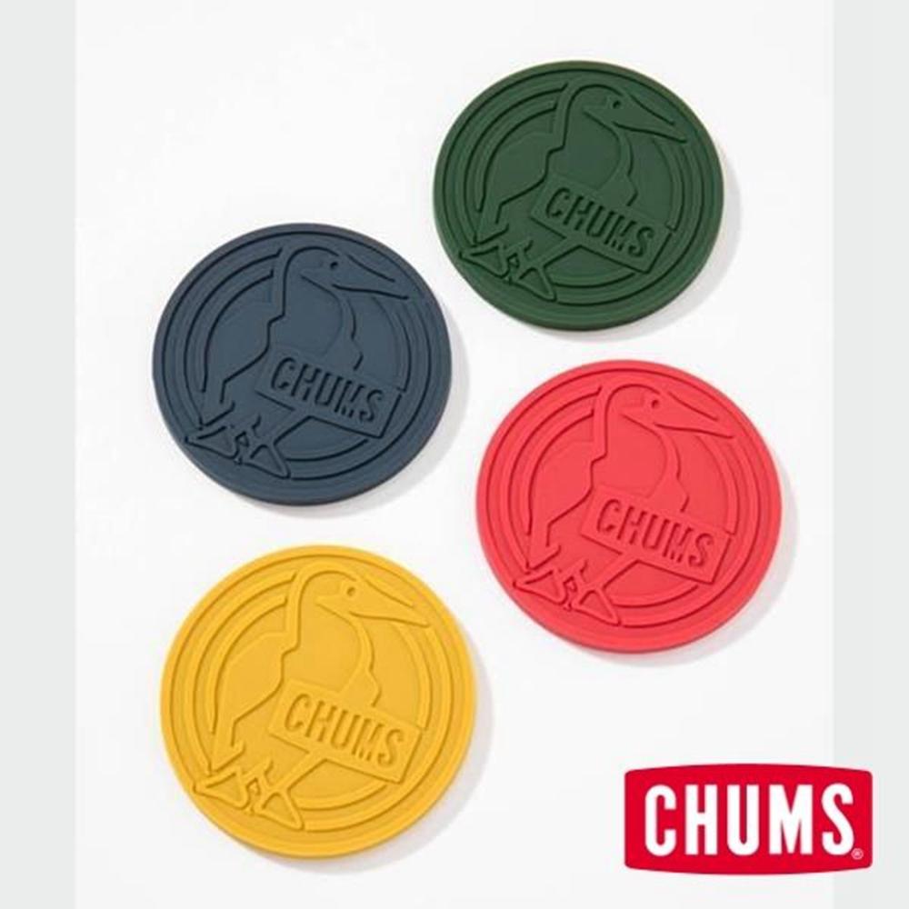 CHUMS - 日本 Booby 雙面橡膠杯墊 四色組