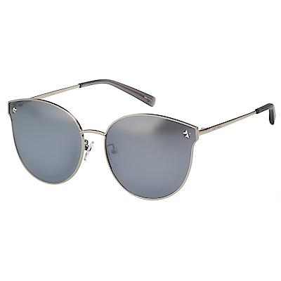 VEDI VERO 水銀面 太陽眼鏡 (銀色)