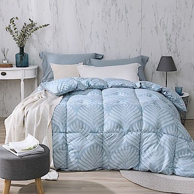 Cozy inn 雲柔羽絲絨暖冬被-風信子藍