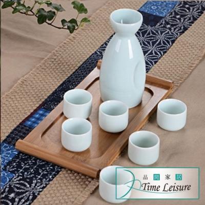 Time Leisure 日式陶瓷清酒溫酒壺/分酒器禮盒組