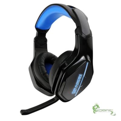 ELEPHANT龍戰系列7.1聲道RGB燈效電競全罩式耳麥(GHS010)