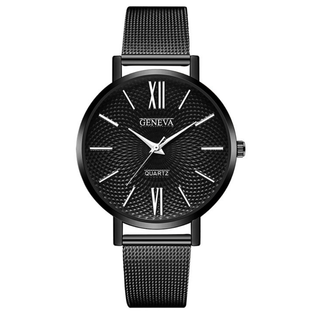 Geneva 日內瓦-小資微甜極簡米蘭帶手錶 (5色任選)
