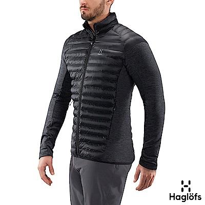 Haglofs 男 Mimic Hybrid 保暖化纖外套 黑色
