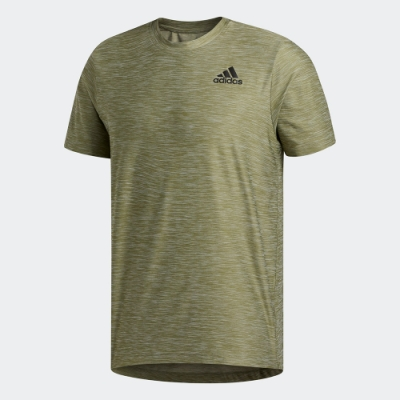 ADIDAS 休閒 運動 訓練 短袖 上衣 男款 綠 FL1554 ALL SET TEE