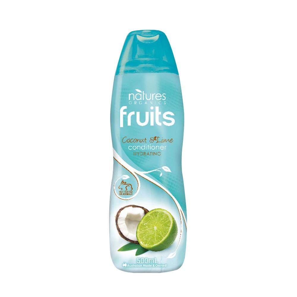 (即期品)澳洲Natures Organics 植粹滋養洗髮精(萊姆椰子)500mlx4入