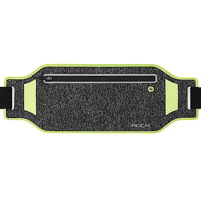 ROCK 超薄型貼身防水運動腰包 多功能戶外手機收納包