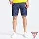 GUESS-男裝-率性簡約牛仔短褲-深藍 原價1990 product thumbnail 1