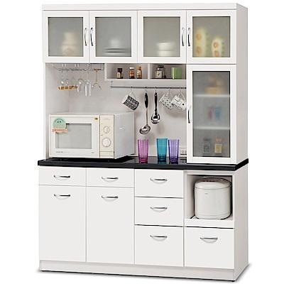 凱曼  黛芙妮5.2尺石面餐櫃收納櫃(上+下座)
