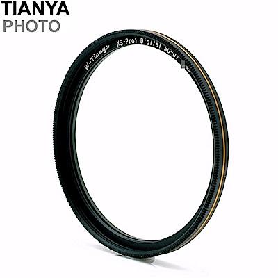 TianyaMC-UV濾鏡薄框保護鏡52mm保護鏡52mm濾鏡(金邊,18層多層膜抗刮防污)