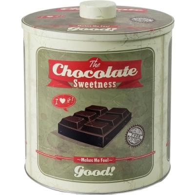 《IBILI》復古圓形收納罐(巧克力)