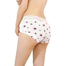 JoyNa-3件入-無痕冰絲內褲 透氣絲滑印花中腰三角褲