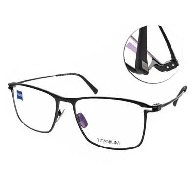 ZEISS蔡司眼鏡 休閒沉穩方框/黑  #ZS85009 F099