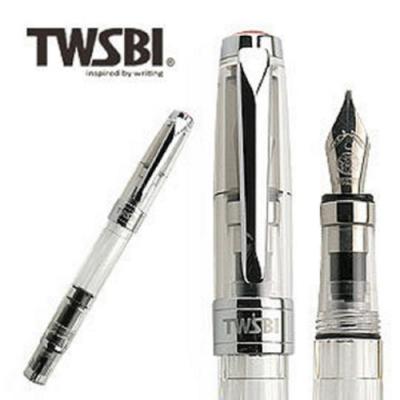 台灣三文堂鋼筆 鑽石 580 透明 1.1