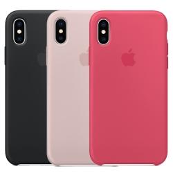 Apple iPhone X 原廠矽膠保護殼