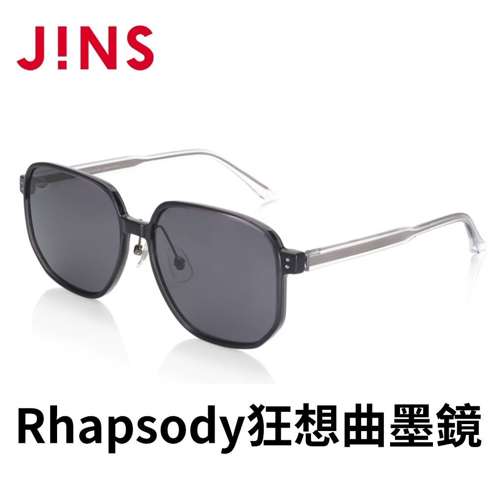 JINS Rhapsody 狂想曲METHODIC SENCE墨鏡(AMRF21S049)深灰色