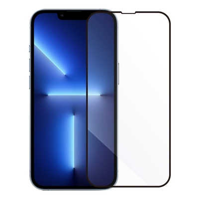 Metal-Slim Apple iPhone 13 Pro Max 0.3mm 3D全膠滿版9H鋼化玻璃貼