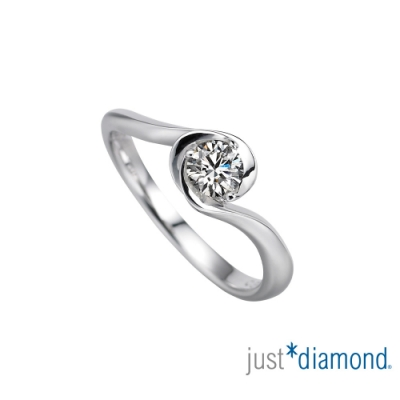 Just Diamond 薔薇之吻 GIA 0.3克拉 鑽石戒指