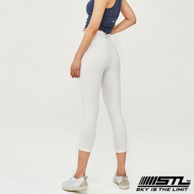 STL Leggings Seven Days 7 韓國 中低腰 運動瑜珈 緊身壓力7分拉提褲 底色貴婦白