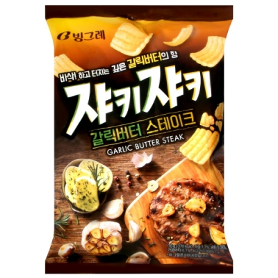 CROWN 大蒜BBQ風味脆餅乾(70g)