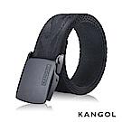 KANGOL EVOLUTION系列 英式潮流休閒自動釦皮帶-黑色龍紋 KG1181