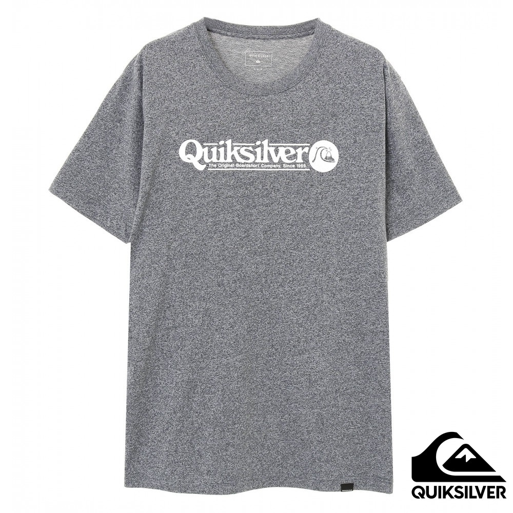 【QUIKSILVER】DF ART TICKLE ST T 恤 灰