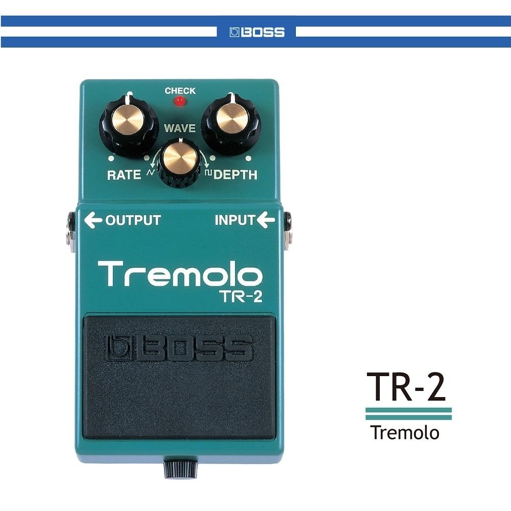 BOSS TR-2 顫音效果器/贈導線/公司貨保固