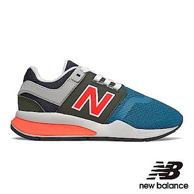 New Balance 童鞋 KA247NFP-W 藍色