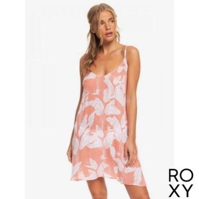 【ROXY】PT BE IN LOVE DRESS 洋裝 粉紅