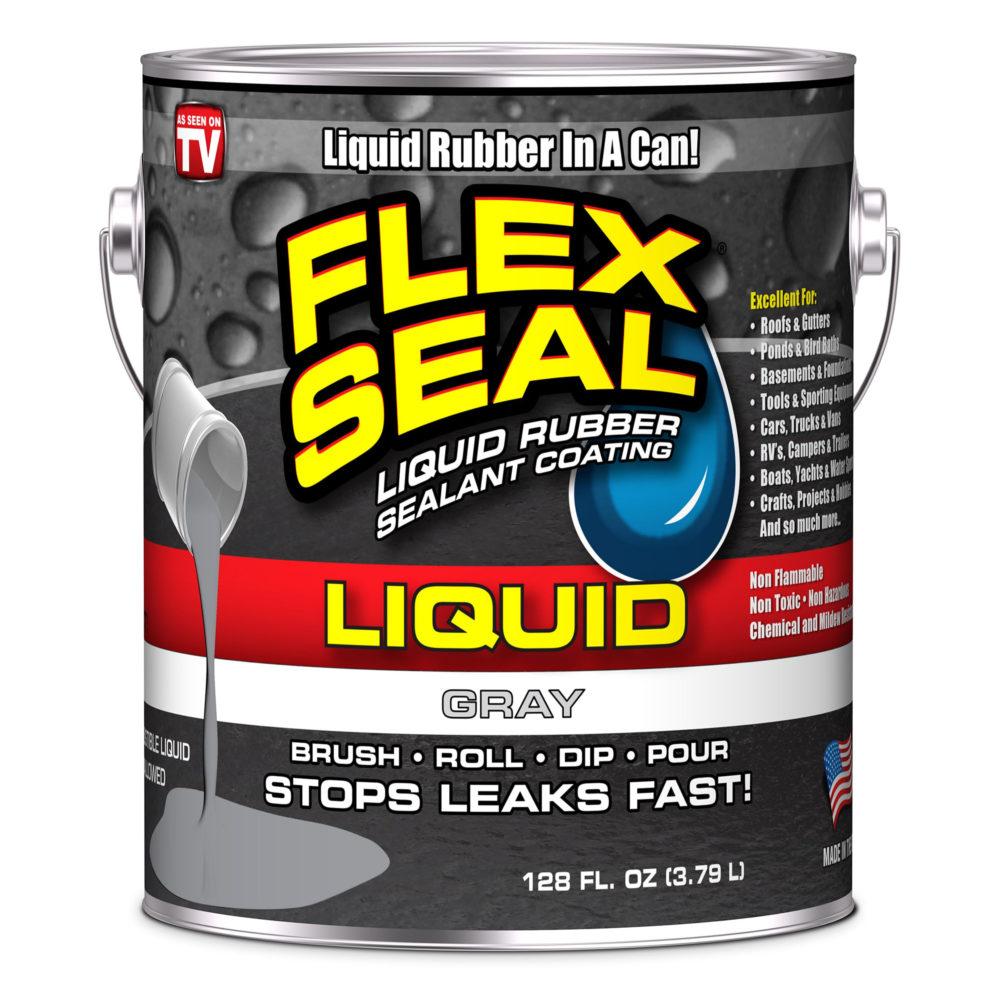 美國FLEX SEAL LIQUID萬用止漏膠(水泥灰/1加侖包裝/美國製)