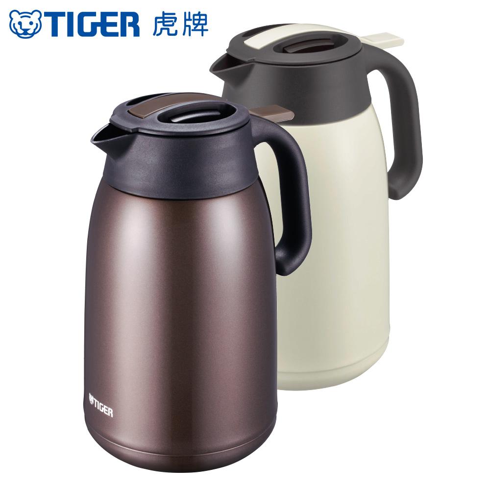 TIGER虎牌 1.6L提倒式不鏽鋼保冷保溫熱水壺(PWM-B160) product image 1