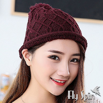 FLYSPIN 輕薄保暖針織毛線帽