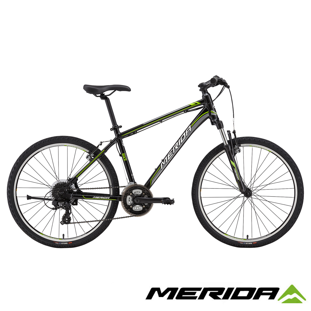 《MERIDA》美利達登山車 勇士 500V 黑 2018