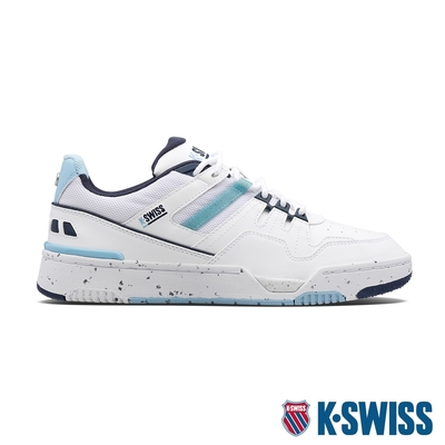 K-SWISS Match Rival CC 時尚運動鞋-女-白/無憂小孩子藍