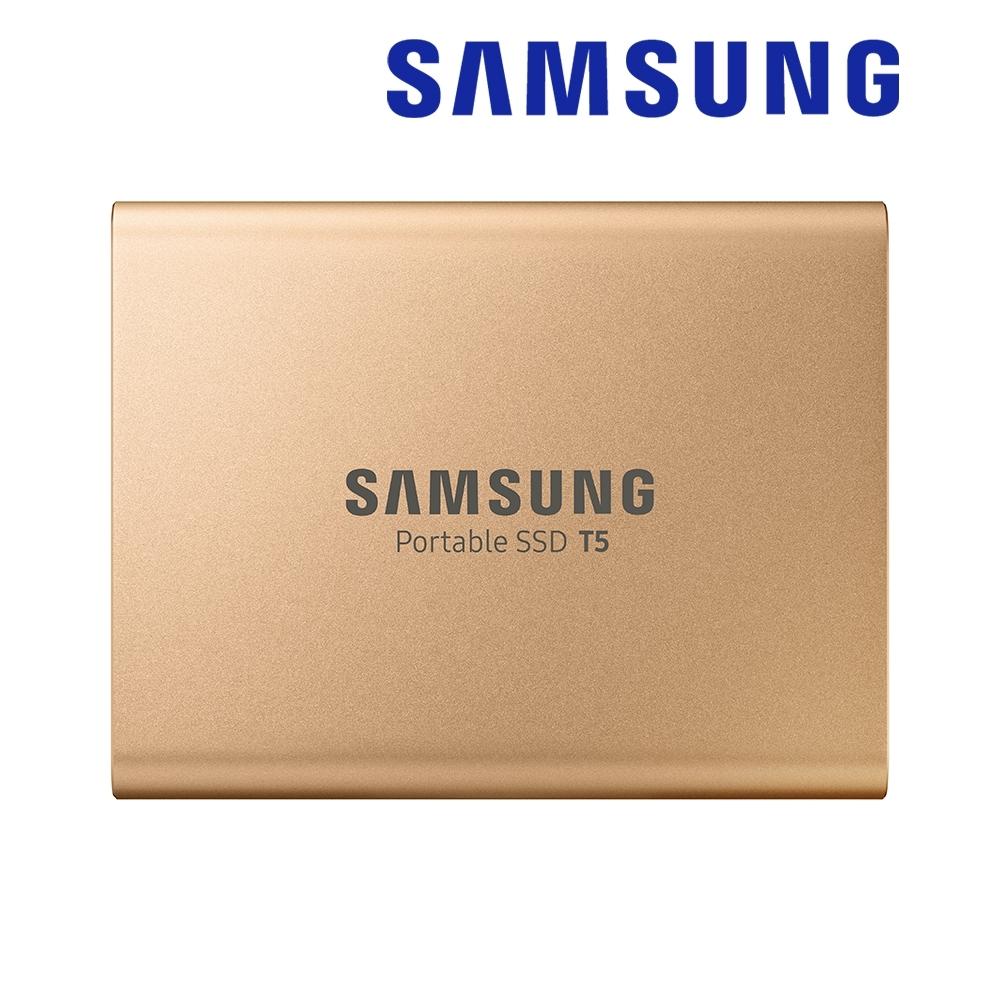 SAMSUNG 三星 T5 500GB USB3.1 移動固態硬碟 玫瑰金 (MU-PA500G/WW)