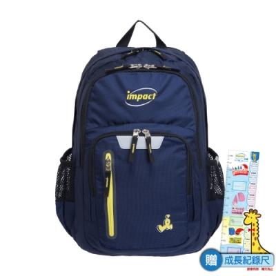 【IMPACT】彈力氣墊-機能款-寶藍 IM00R09RB