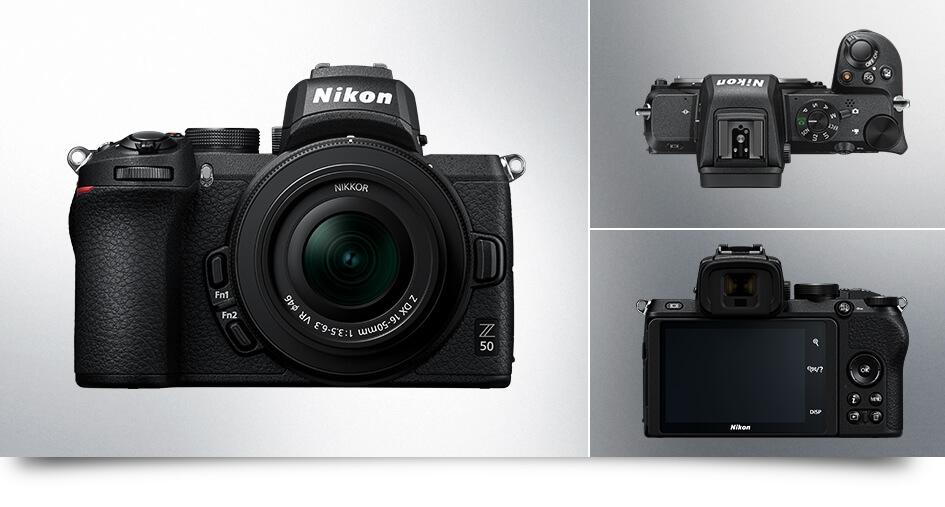 Nikon尼康 Z50 超值人像組 含Z 50mm f/1.8S人像鏡 國祥公司貨