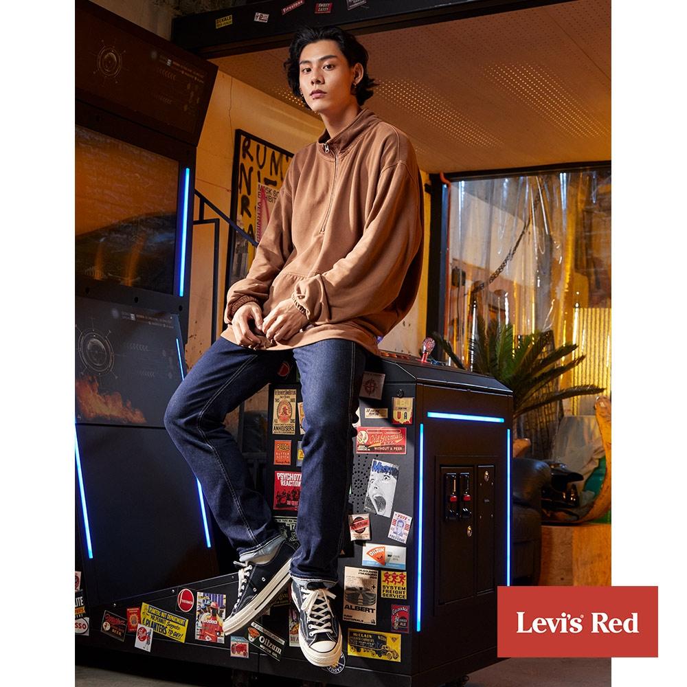 Levis Red 工裝手稿風復刻再造 男款 上寬下窄 502 Taper牛仔褲 黑色基本款