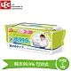 日本LEC 純水99.9%可沖式濕紙巾 60抽X3入包 product thumbnail 2