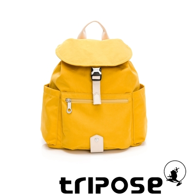 tripose MEMENTO微皺尼龍輕量後背包-小(活力黃)
