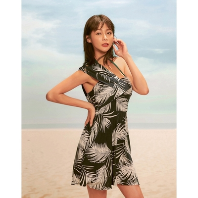 WAVE SHINE-時尚單肩度假洋裝-女【B5WF015】