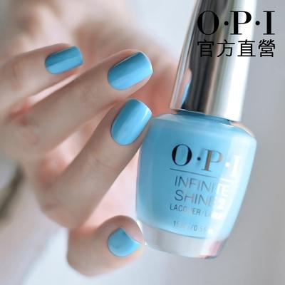 OPI官方直營.藍色棉花糖類光繚-ISL18.如膠似漆閃耀系列指彩/居家美甲