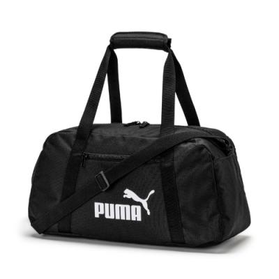 PUMA Phase運動側背包-黑-07572201