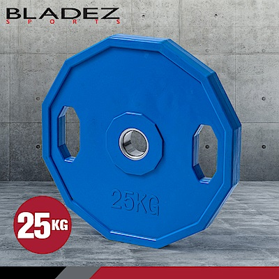 【BLADEZ】OP奧林匹克包膠槓片-25KG