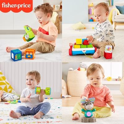 【時時樂限定優惠】奇哥 Fisher-Price 費雪嬰幼玩具/互動玩具/聲光玩具/感官玩具/角色扮演/海底小縱隊 (10款任選)