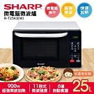 SHARP 夏普 25L微電腦微波爐 R-T25KS(W)