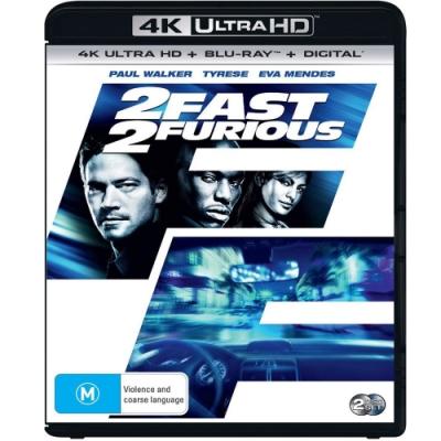 玩命關頭2  飆風再起 4K UHD+BD 雙碟限定版