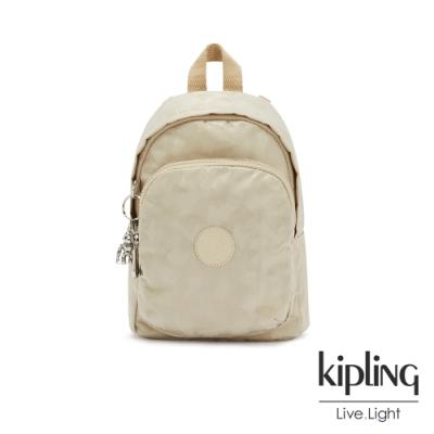 Kipling 奶油鬆餅色休閒後背包-DELIA COMPACT