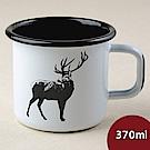 Muurla 北歐琺瑯馬克杯 鹿 370ml
