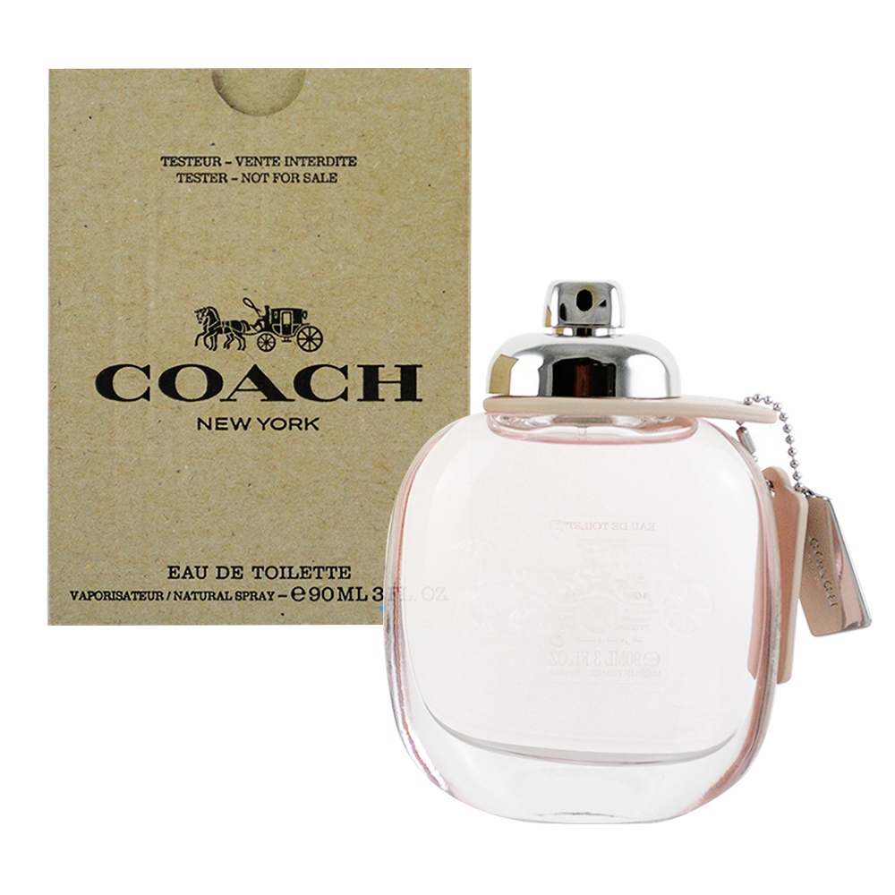 *COACH 時尚經典女性淡香水90ml TESTER